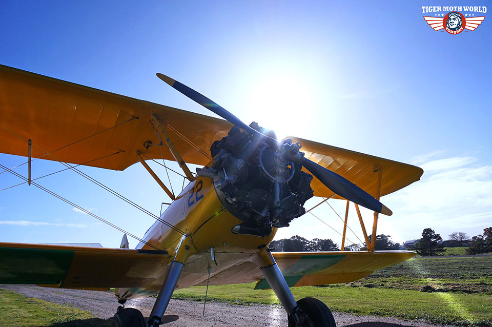 Tiger Moth World adventure flight