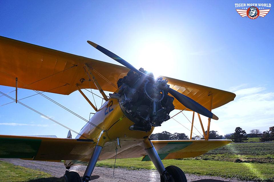 Tiger Moth World adventure flight