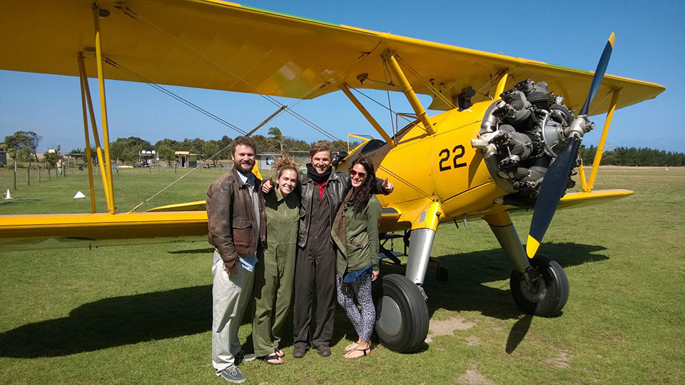 Tiger Moth World, Torquay, adventure flights for two along the Great Ocean Road
