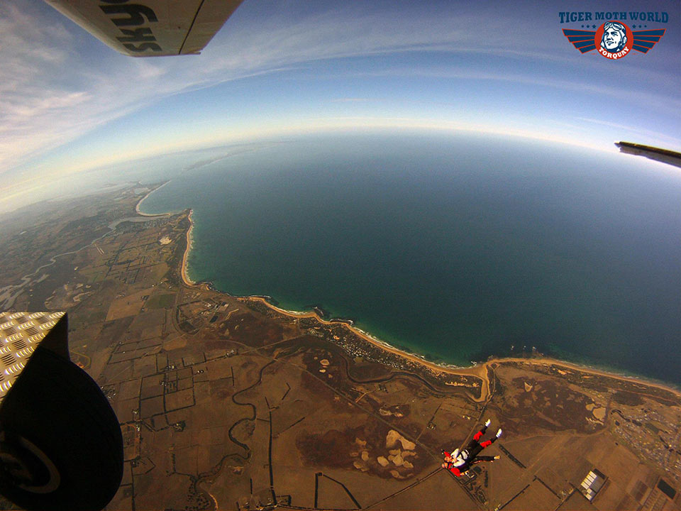 Skydive over the Great Ocean Road with Australian Skydive at Torquay Airport