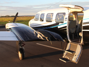 12 Apostles flights in a modern twin engine aircraft departing from Torquay Airport